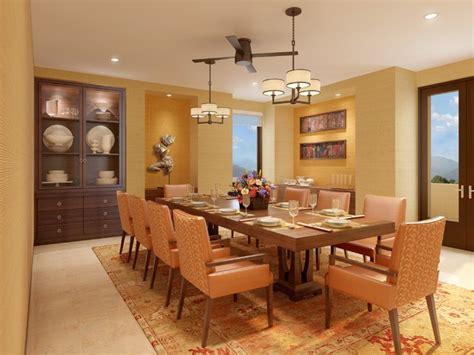 india residential dining room
