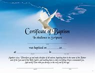 Free Printable Baptism Certificate Template