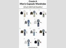 Create a Men's Capsule Wardrobe 10 Fall Outfits Classy