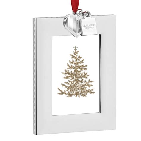 christmas ornaments frames vera wang vera picture frame ornament 2016 silver superstore