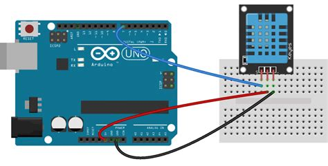 How Set The Dht Humidity Sensor Arduino