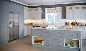 Matt Denim, Matt Dove Grey, Aldridge Kitchen BA Components