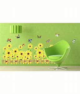 Syga beautiful wall sticker green snapdeal price