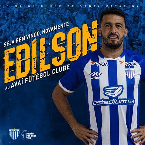 Avaí anuncia contratação de Edilson; lateral retorna após ...