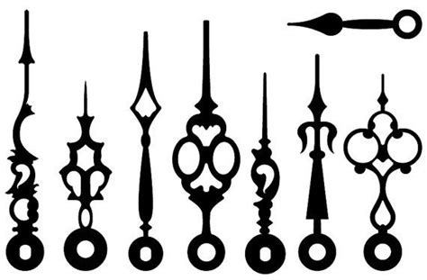 23 Best Silhouettes Clock Vectors Images On Pinterest