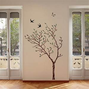 tree wall stencils wwwimgkidcom the image kid has it With large tree template for wall