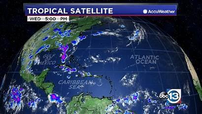 Satellite Atlantic Weather Water Vapor Loop Gulf
