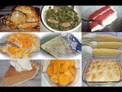 The best soul food christmas dinner menu. Divas Can Cook - A Divalicious Thanksgiving: Thanksgiving Menu Ideas - YouTube