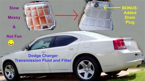 Dodge Charger Automatic Transmission Fluid Change