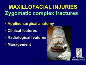 Maxillofacial Injuries   Certified Fixed Orthodontic