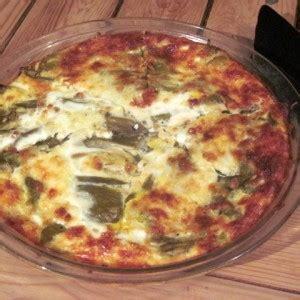 Green Chile Quiche - Meatless Monday Recipe