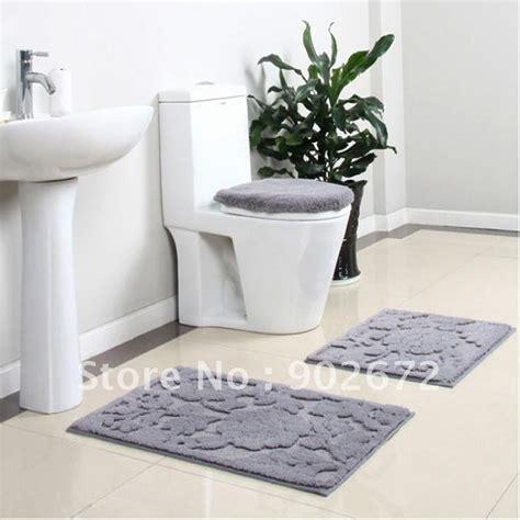 4 bathroom rug set 100 acrylic bathroom rug toilet lid set bath mats 4