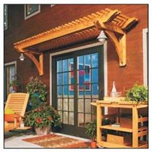Pergola Above Door - Free Plans - Woodwork City Free