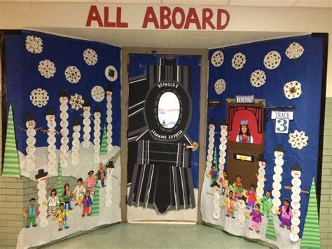 Polar Express Door Decorating Ideas Elitflat