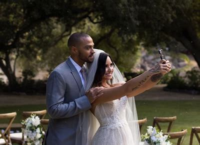 Watch Demi Lovato marry Jesse Williams