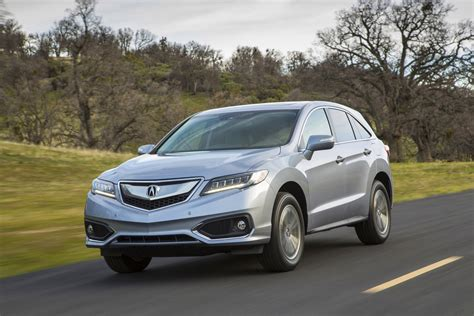 acura rdx features review  car connection