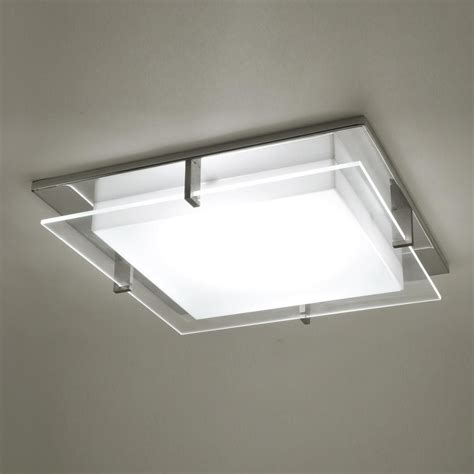 Kitchen And Bathroom Ceiling Lights by Modern Square Ceiling Light Adapter For Recessed Light