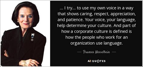 frances hesselbein quote