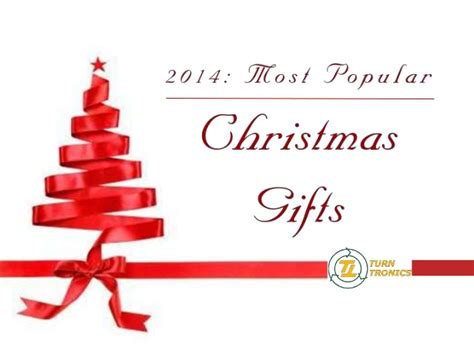 2014 most popular christmas gifts