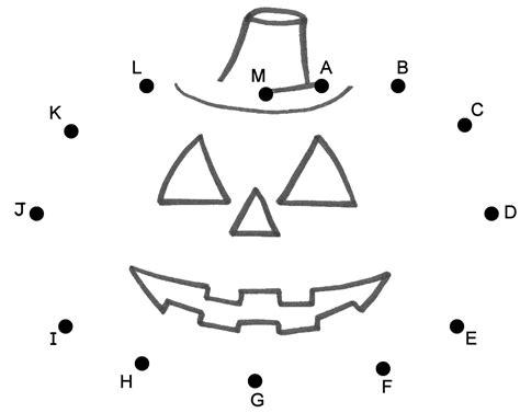 pumpkin  jack  lantern connect  dots  capital