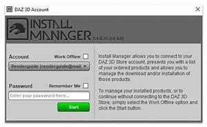 Daz Install Manager Dim Vs Dazcentral Vs Daz3d Manual