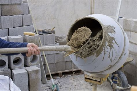 beton mischen mischungsverhaeltnis