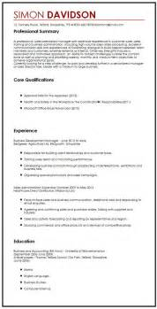 Cover Letter For Hr Professional Business Cv Sle Myperfectcv