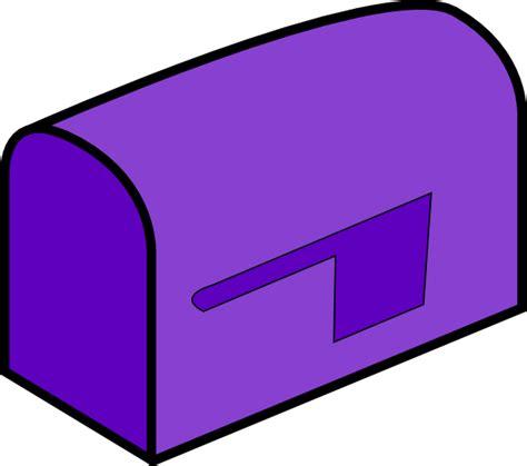 Mailbox Clipart Purple Mailbox Clip At Clker Vector Clip