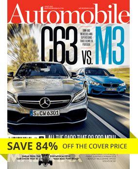 automobile magazine subscriptions automobile magazine