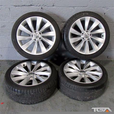 18 quot genuine vw interlagos scirocco passat cc alloy wheels four tyres in magherafelt county