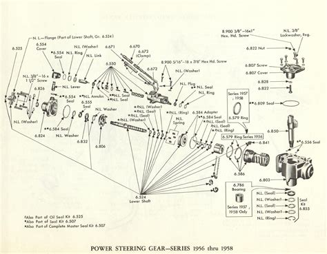 1959 Cadillac Power Seat Wiring Diagram by 1956 1957 1958 Cadillac Power Steering Gear Cadillac