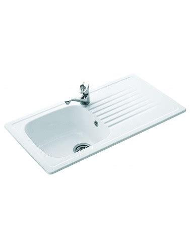 kitchen sinks ceramic uk villeroy boch 6771 medici 1 0 bowl sink drainer 6066