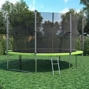 Trampolin Netz 366 : xl trampolin 366 cm gartentrampolin komplettset mit netz ~ Whattoseeinmadrid.com Haus und Dekorationen
