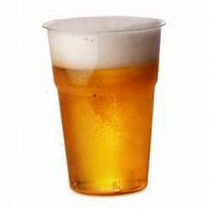 Verre A Bierre : verre bi re pas cher en plastique rigide dur transparent 50 cl badaboum ~ Teatrodelosmanantiales.com Idées de Décoration