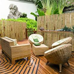 balkon sichtschutz natur balkon sichtschutz bambus natur carprola for