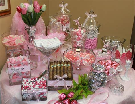 wedding  bridal shower candy buffet