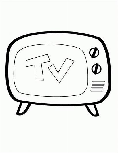 Pages Coloring Tv Printable Boomerang Sprout Television