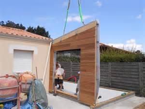 extension en bois d une maison construction de maison passive ou extension 224 ossature bois d 233 couvrez nos r 233 alisations