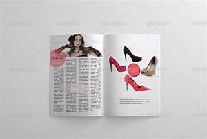 24 pages fashion magazine template by bagera graphicriver With magazine templates for pages