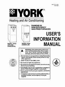 User U2019s Information Manual  Diamond 80 High Efficiency Gas