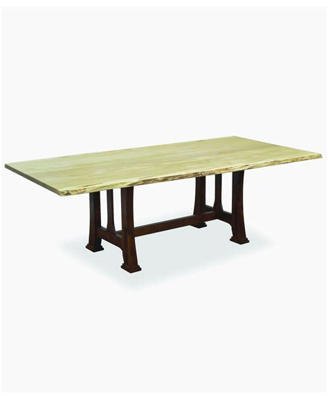 what is a live edge table custer dining table with live edge amish direct furniture