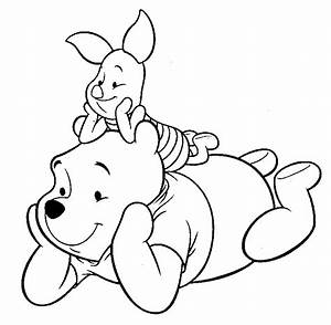 Winnie The Pooh Piglet Clipart Black And White