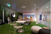 interesting office room interior Cool Office Design With Creative Interior And Modern ...