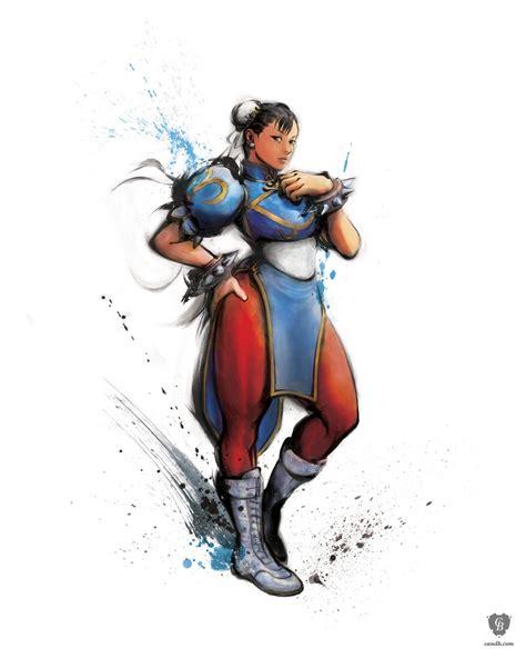 Artwork Chun Li Street Fighter Iv Capcom