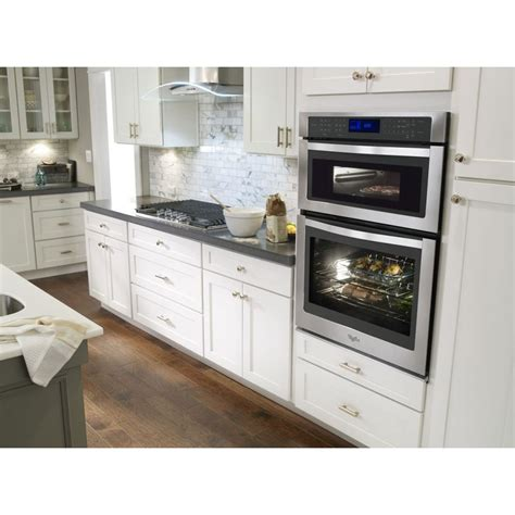 whirlpool woceses  convection wall oven  microwave