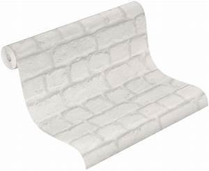 Steintapete Weiß Grau : rasch tapeten 587203 vlies tapete stein mauerstein steintapete grau wei ~ Sanjose-hotels-ca.com Haus und Dekorationen