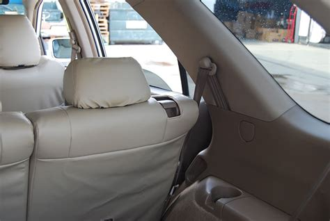 2007 acura mdx seat covers acura mdx 2007 2013 leather like custom seat cover ebay