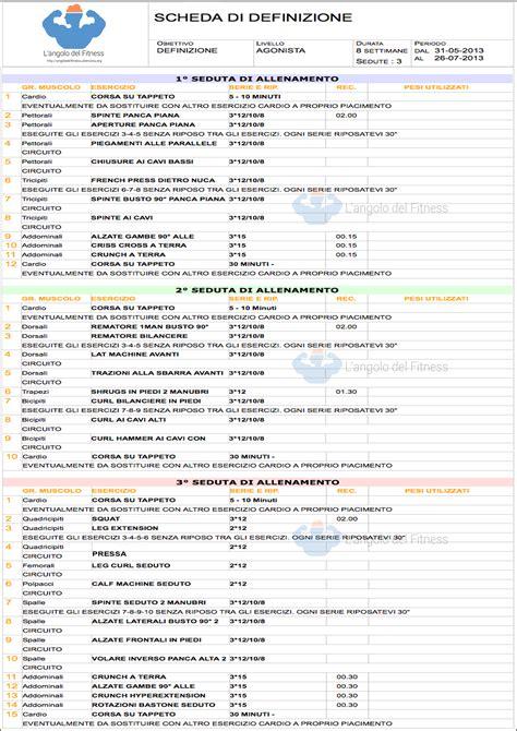 programma allenamento palestra search results calendar