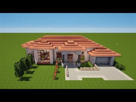 Minecraft Italienische Villa Bauen Tutorial [haus 74