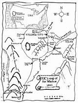 Rush Gold Pages California Coloring Map History Getdrawings Printable Washoe Virginia Getcolorings Mysteries Caroline Lawrence sketch template